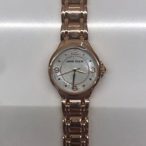 Anne Klein New Rose gold watch